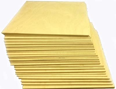 """1/8"""" x 8-1/2"""" x 11"""" Baltic Birch Plywood NEW B/BB No Plugs 1 Face Great for laser, CNC, and Scroll Saw Projects"""