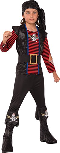 Rubies Costume Child's Rogue Pirate Costume, Medium, Multicolor