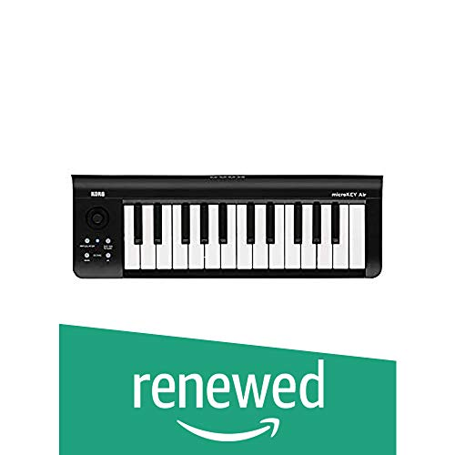 (Renewed) Korg microKEY air 25-Key Bluetooth and USB MIDI Controller