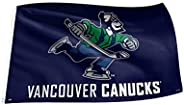 NHL Vancouver Canucks Johnny Canuck 3' x 5' Banner Flag with Reinforced