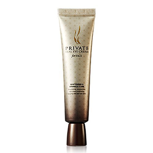 AHC Private Real Eye Cream for Face 30ml , Whitening and Wrinkle Care, Korean Cosmetic , Best Selling Eye Cream in Korea