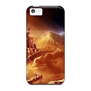 DrunkLove Fashion Protective Fantasy Wow Case Cover For Iphone 5c