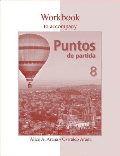 Puntos de Partida w. Workbook & Quia 8