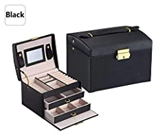 Product Information  --Condition: Brand New Without tags --Color: White,Black,Pink,Purple.  --Size: approx. 17x12.5x12cm/ 6.69x4.92x4.72inch --Material:  Outside:Deluxe synthetic leather Inside:Velvet lining+High Quality flannel Description a...