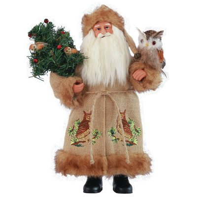 Night Watchman Santa Figurine by Santa's Workshop (Victorian Man Figurine)
