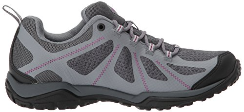 Columbia Peakfreak XCRSN II Xcel Outdry, Zapatos de Low Rise Senderismo Para Mujer Gris (Graphite, Intense Violet)