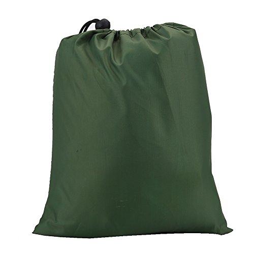 Camping Tarp Shelter, Outdoor Portable lichte regen Tarp Fly Tarp Shelter (Groen)