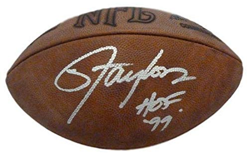 Lawrence Taylor Autographed official NFL Football w/HOF 99 JSA