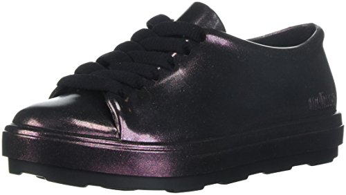 Mini Melissa Girls' Mel Be Shine Sneaker Wine 11 Medium US Little Kid