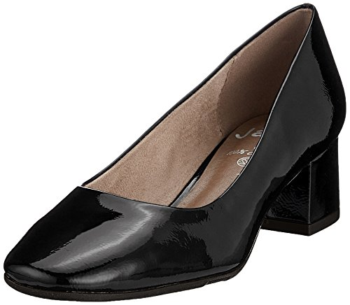 Jana Femme 22302 Jana 22302 Patent Black Escarpins Noir RrRPw