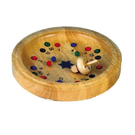 Hanukkah Dreidel Roulette Game