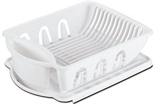 2pc Sink Set Dish Rack Drainer Kitchen Storage Organization
