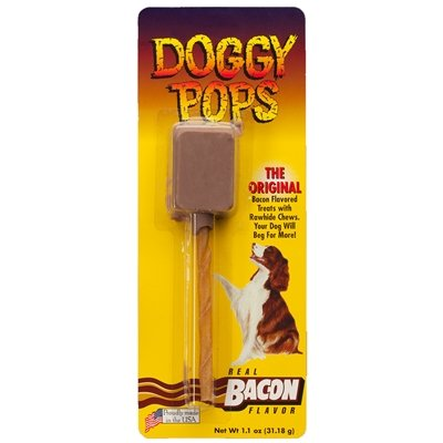 BACON DOGGY POPS - 12 PACK OF (Doggy Pops Bacon)