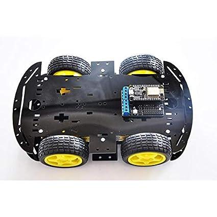 NodeMCU 4WD Open Source ESP8266 ESP-12E WiFi Smart Car Kit
