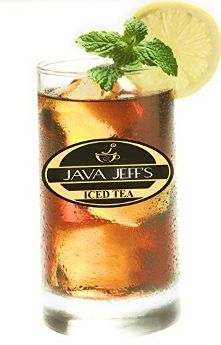 Java Jeff's Ice Tea Bags - Select Orange Pekoe And Pekoe Cut Black Restaurant Tea 50 1 Once Filter Packs For Restaurants And Home Use! by Java Jeff's Coffee & Tea Company
