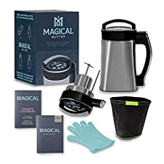 With your Master Bundle, you'll have everything you need to get started- just add your own herbs! Included is The MagicalButter MB2e machine designed for infusing the essence of healthy herbs into butter, oil, alcohol, lotions, and more! A De...