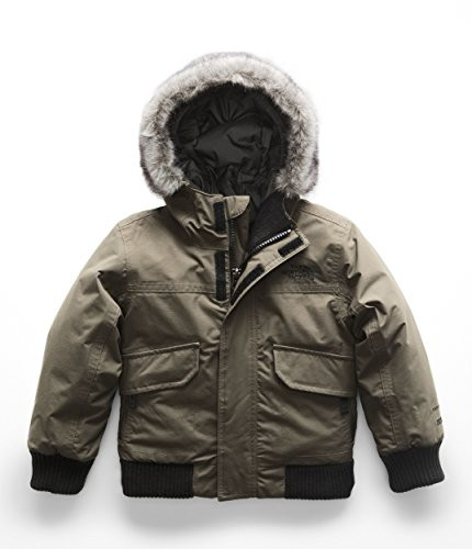 The North Face Kids Baby Boy's Gotham Down Jacket (Toddler) New Taupe Green -