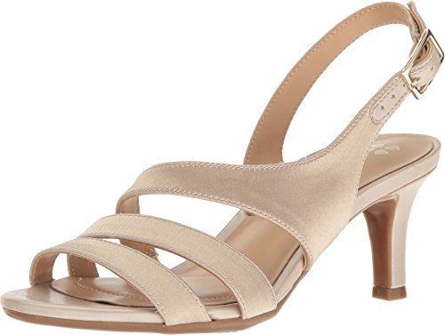 Naturalizer Women's Taimi Dress Sandal, Champagne, 7 M US