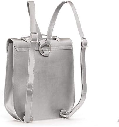 Gretchen, Borsa a zainetto donna Argento Sparkling Silver