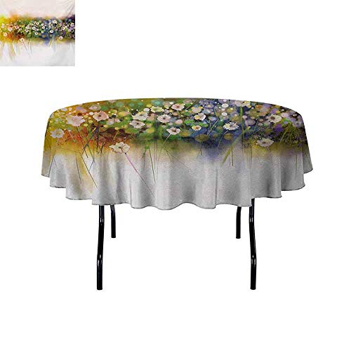 GloriaJohnson Flower+Elastic+Edge+fit+Vogue+Display+Wisteria+Violets+Wreath+Fragrant+Plants+Herbs+Spring+Season+Artsy+Suitable+for+Most+Home+Decor+D55+Inch+Multicolor+