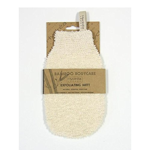 Hydrea London Bamboo Gentle Exfoliating Mitt, Soft/Medium Texture (Pack of 6) - ハイドレアロンドン竹エクスフォリエイティングミット、ソフト/ミディアムテクスチャー x6 [並行輸入品]   B0713SNM18