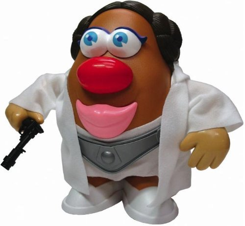 [Star Wars Princess Tator (Leia) Potato Head] (Princess Leia White Robe)