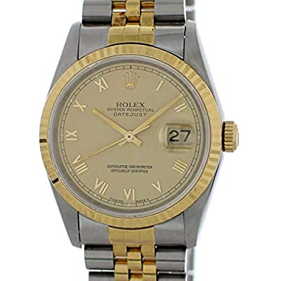 Rolex Datejust Automatic-self-Wind Male Watch 16233 (Certified Pre-Owned) by Rolex