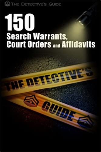 150 Search Warrants, Court Orders, and Affidavits: Aaron Edens