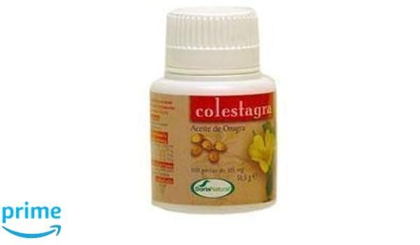 Aceite de Onagra Colestagra 250 perlas de Soria Natural: Amazon.es: Salud y cuidado personal