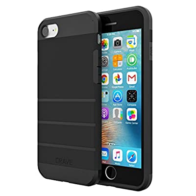 iPhone 7 Case, Crave Strong Guard Protection Series Case for Apple iPhone 7 (4.7 Inch) - Black