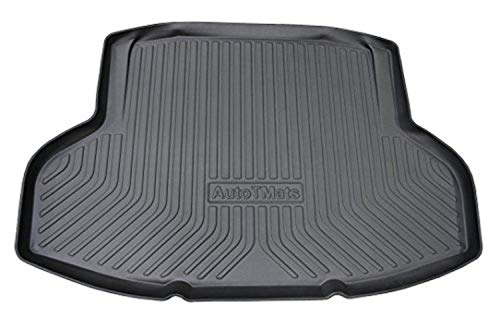 Remarkable Power Fit For 2016-2017 Hondaa Civic, Trunk Mat Cargo Liner, TPO Rubber ΓÇô Waterproof (TM9304)