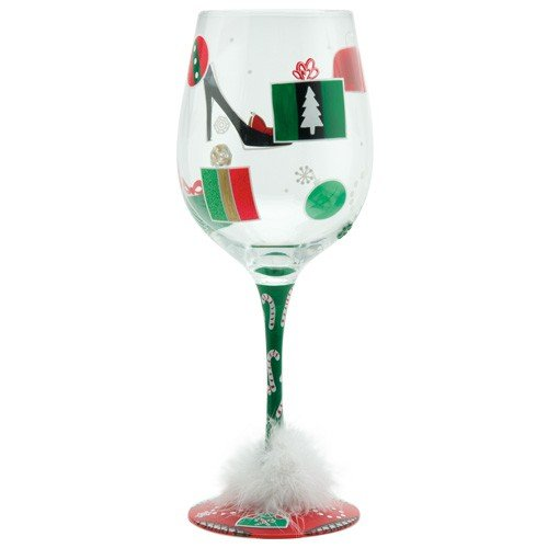 Santa Barbara Design Studio GLS19-5521B Lolita Love My Wine Giant Wine Glass, Shop-A-Holiday ()