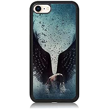 more photos a77b1 e1a6d Amazon.com: Castiel Angel Wings Supernatural Phone Case for iPhone 5 ...