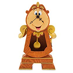 Disney Cogsworth Clock-Beauty and The Beast, Neutral
