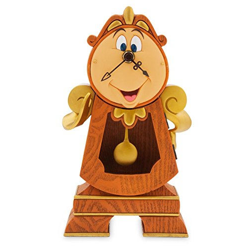 Disney Cogsworth Clock - Beauty and The -