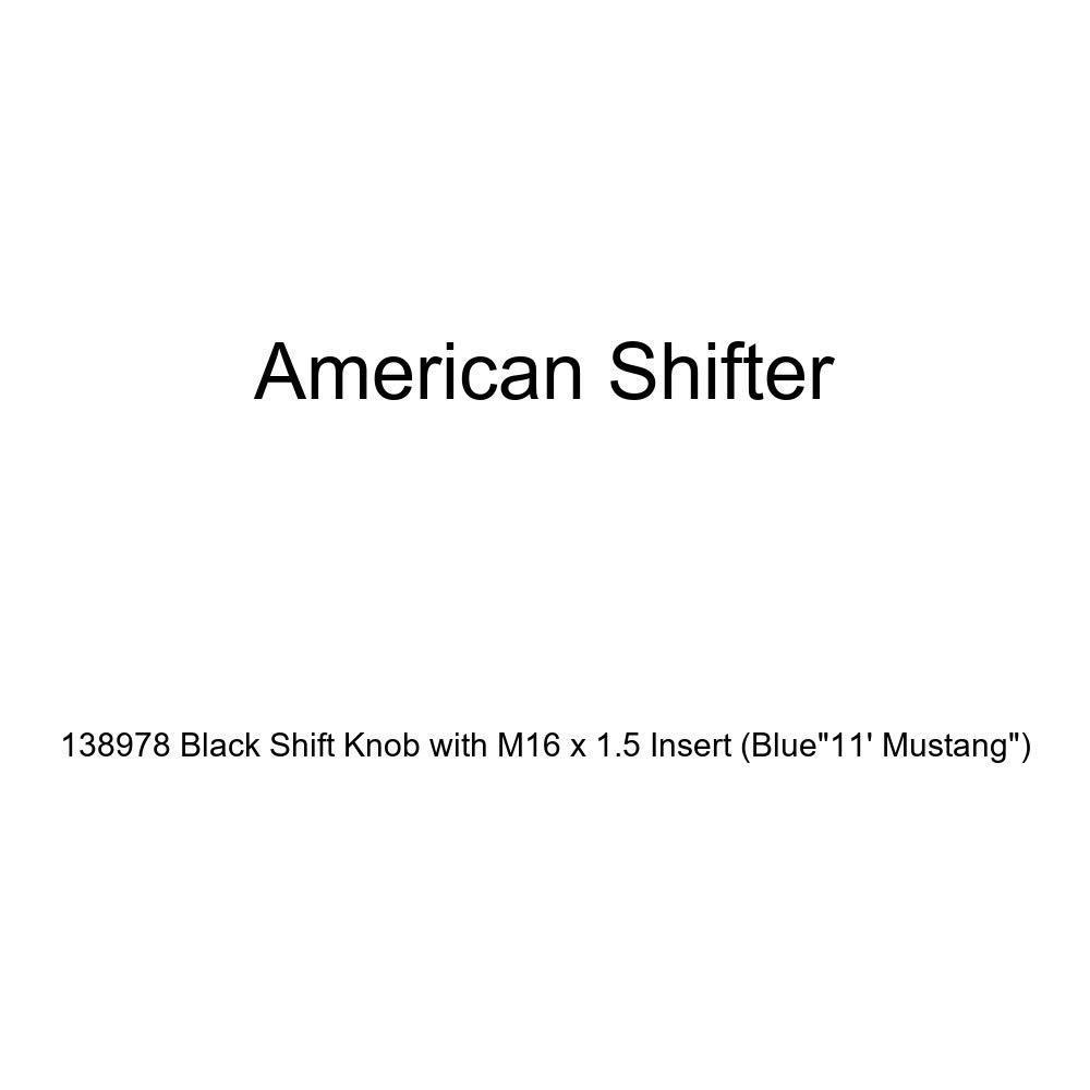 American Shifter 179070 Orange Retro Metal Flake Shift Knob with M16 x 1.5 Insert Blue I 3 My HOT Rod