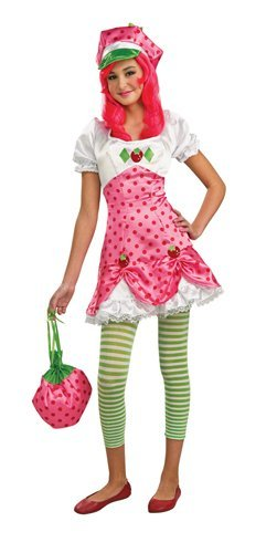 Tween Strawberry Shortcake Costumes (Strawberry Shortcake Costume, Tween Small by Rubie's)
