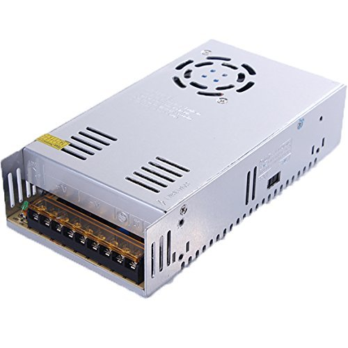 BMOUO 12V 30A DC Universal Regulated Switching Power Supply 360W for CCTV, Radio, Computer Project, LED Strip Lights