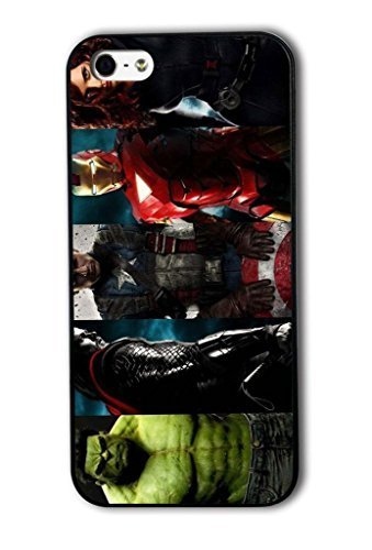 Tomhousomick Custom Design The Avengers Spider-Man Captain America The Hulk Thor Ant-Man Black Widow Iron Man Case Cover For iPhone 6 plus 5.5 2015 Hot Fashion Style