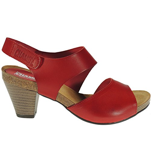 Rouge Romero Femme Calzados Sandales pour OwPIIdHCq