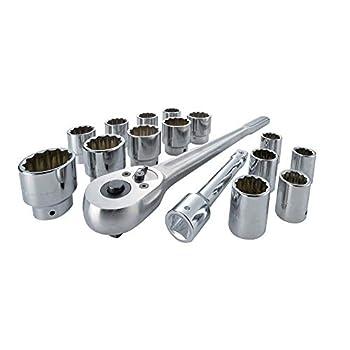 Image of Drive Socket Sets CRAFTSMAN Socket Set, 3/4-Inch Drive, 16-Piece (CMMT12036)