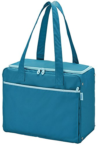 Thermos Cooler Shopping Bag Blue Red-022 Bl