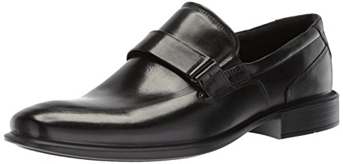 ECCO Men's Cairo Apron Toe Slip On Oxford, Black, 43 EU/9-9.5 M ()