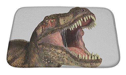 Gear New Tyrannosaurus Rex Dinosaur Bath Rug Mat No Slip Microfiber Memory Foam Rex Slip