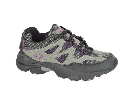 Apex Women's Sierra Trail Running Shoe - Grey/Purple 12 C/D US by Aetrex