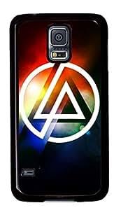 Linkin Park Customized Black Plastic Rubber TPU Samsung Galaxy S5 Case,Cellphone Galaxy S5 Case I9600