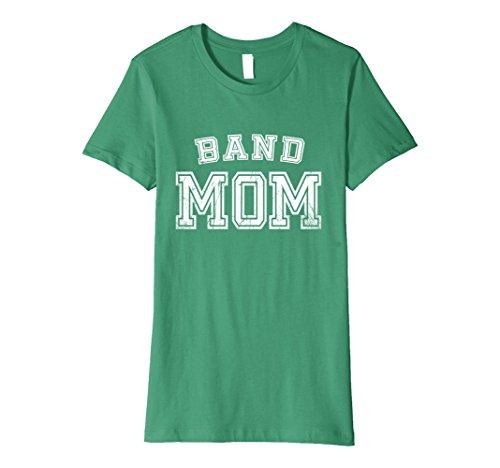 School Marching Band Cute Funny Mother T-Shirt Medium Kelly Green (High School Band T-shirts)