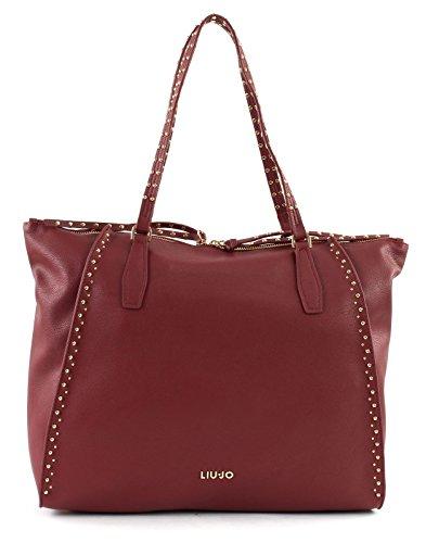 Liu Jo Jeans A68046 E0033 Shopping Donna Bordeaux TU Rojo