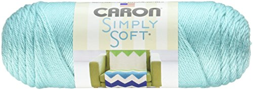 Bulk Buy: Caron Simply Soft Yarn Solids (3-Pack) Robin's Egg (Buys Egg)