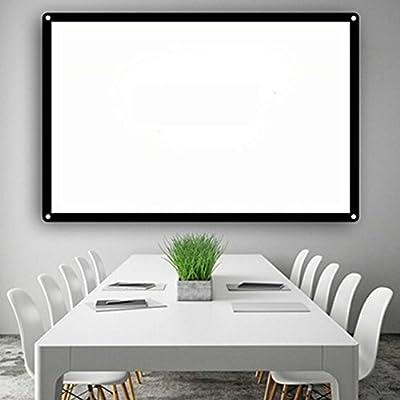 Hanbaili Pantalla de proyector para interiores, 60